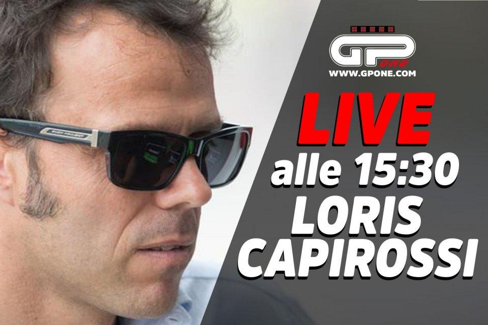 MotoGP: LIVE - Loris Capirossi ospite della nostra diretta Facebook alle 15:30