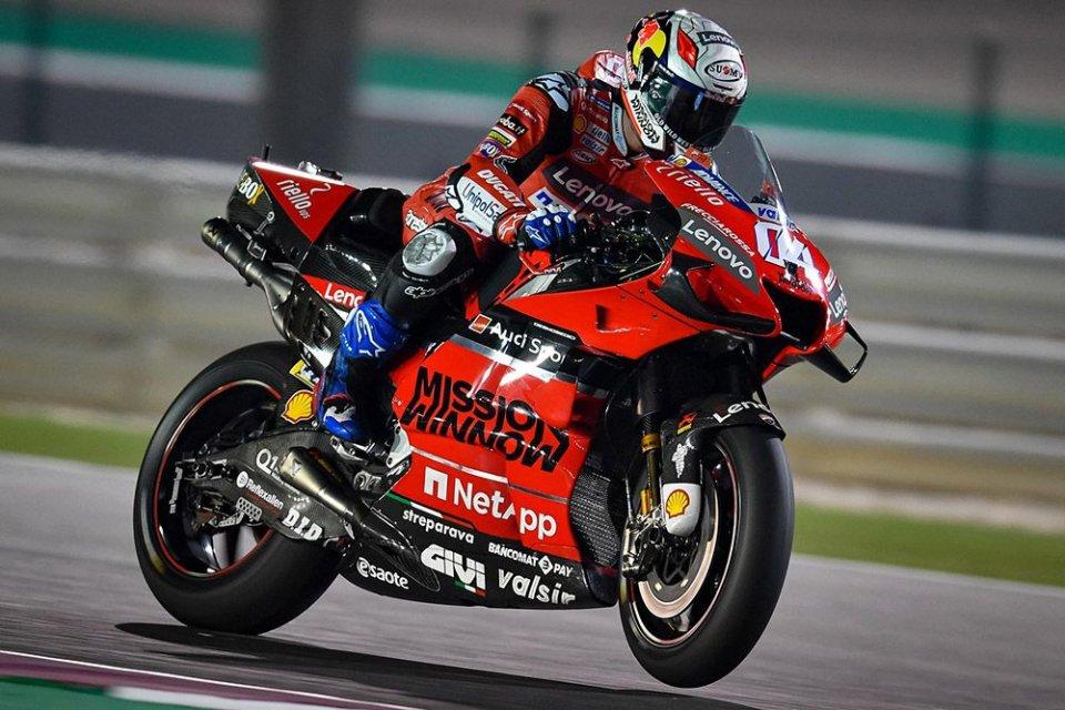MotoGP: Dovizioso: I pulsanti sul manubrio? Ducati è la Mercedes della MotoGP
