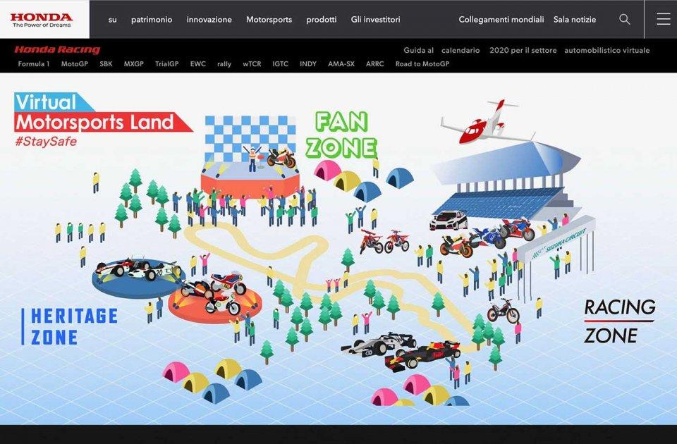 MotoGP: Motorsportland: un tuffo virtuale nell'universo sportivo Honda