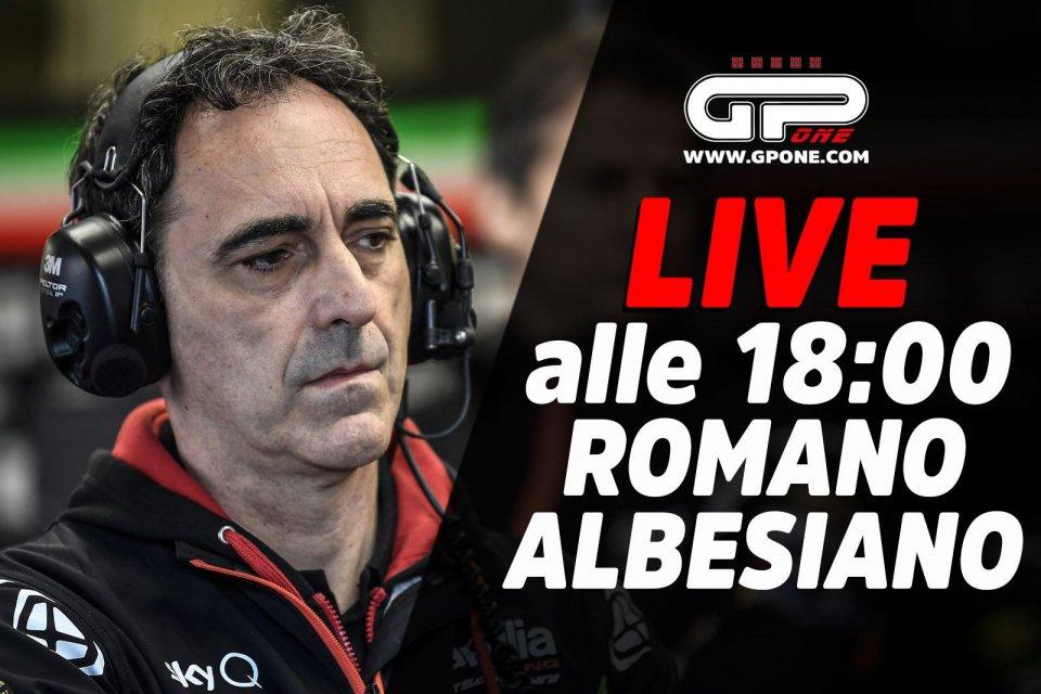 MotoGP: LIVE - Romano Albesiano ospite della diretta alle 18:00 su GPOne