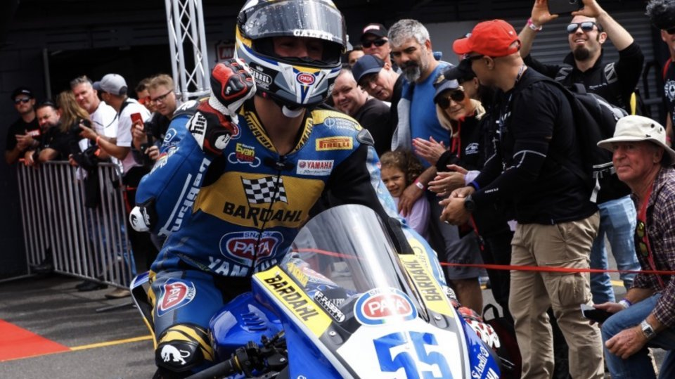 """SBK: Locatelli: """"SBK is a crazy world and there is still real passion"""""""