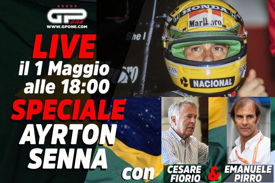 Auto - Video: LIVE - Speciale Ayrton Senna alle 18:00 su GPOne: The Magic svelato