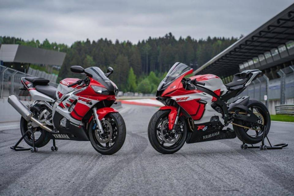 Moto - News: Dopo l'R1, anche Yamaha R6 compie 20 anni. YART la festeggia così