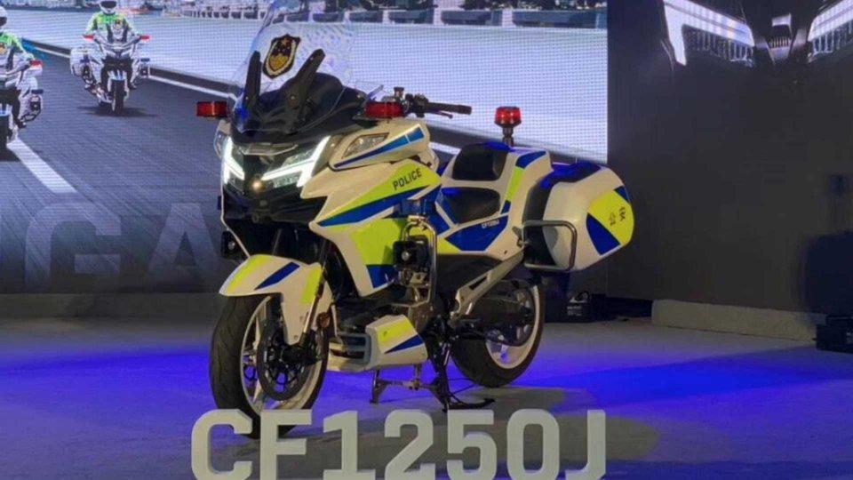 Moto - News: Benelli BJ1200J, le prime immagini arrivano dalla polizia cinese