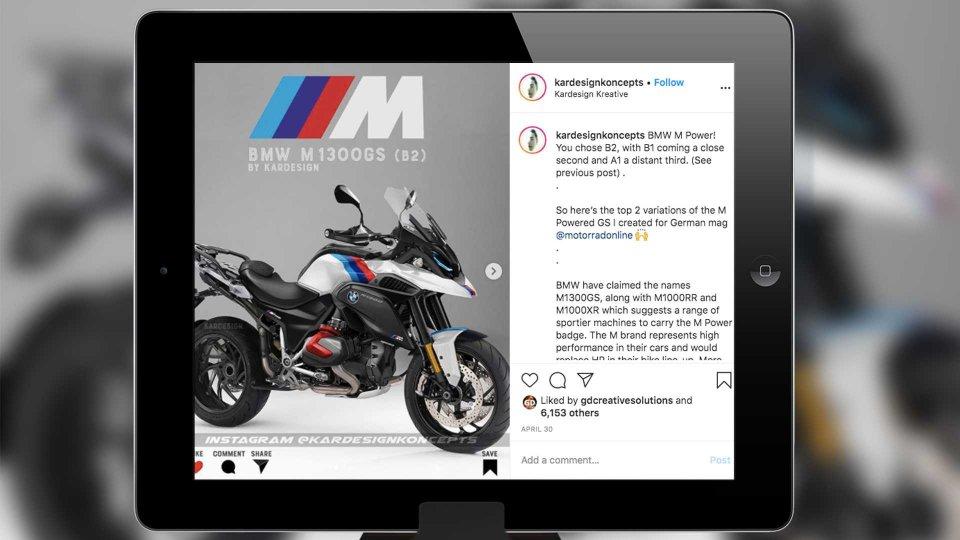 Moto - News: BMW: la GS di M Performance in Germania la immaginano così