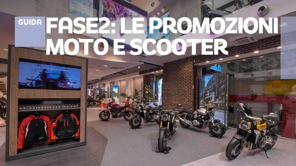 Moto - News: Fase 2: tutte le promozioni per acquistare moto e scooter