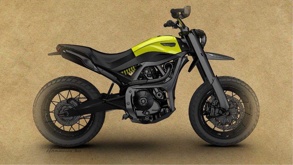 Moto - News: Ducati Scrambler: la moto del futuro si studia all'università