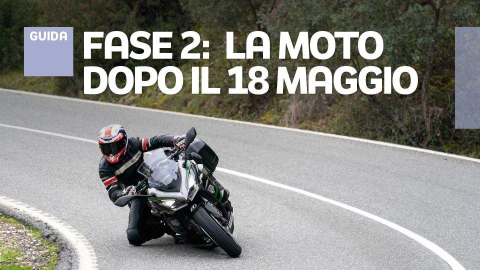 Moto - News: Fase 2: come muoversi (in moto e non solo) da lunedì 18 maggio