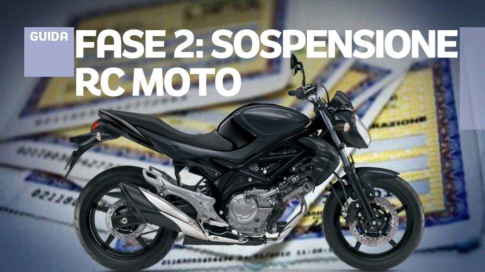 Moto - News: Assicurazione Moto: arriva (troppo tardi) la sospensione della polizza