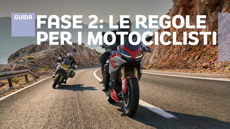 Moto - News: Fase 2: cosa si può fare in moto ( e cosa non è consentito)