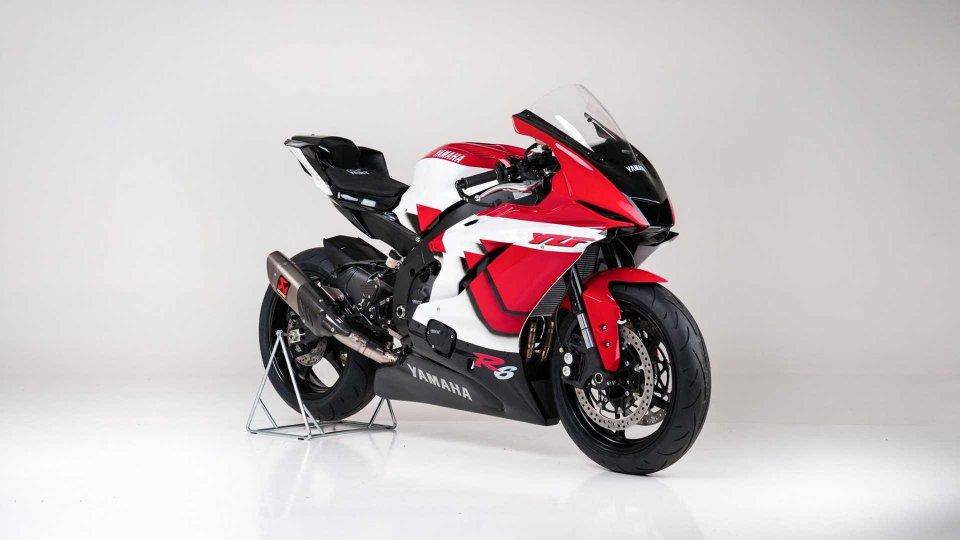 "Moto - News: Yamaha YZF-R6 20° anniversario: YART la importa e la rende ""racing"""