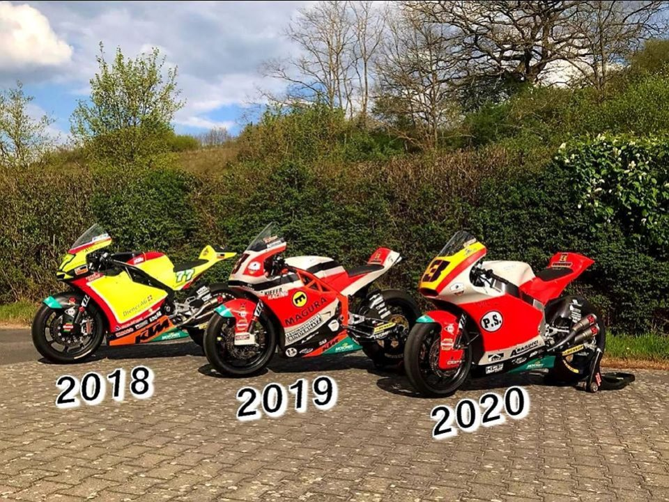 Moto2: Early summer sale: Kiefer sells his Moto2 bikes