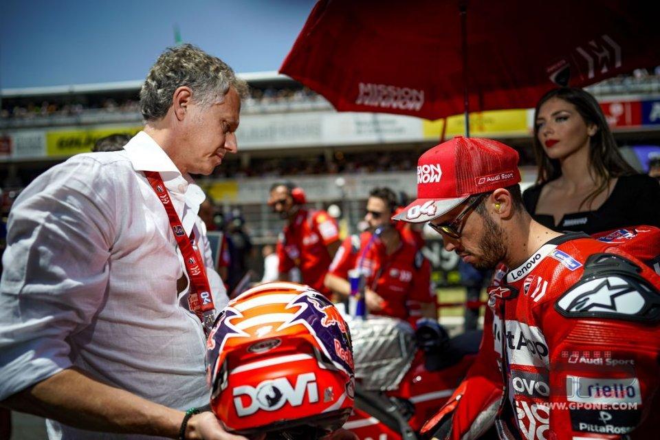 """MotoGP: """"I soldi? Un problema se Ducati non riconosce il valore di Dovizioso"""""""