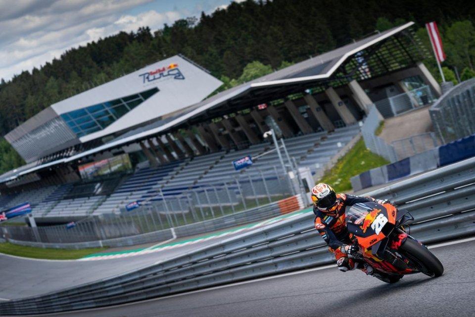MotoGP: L'Austria dà il via libera alla F1, anche la MotoGP può sorridere