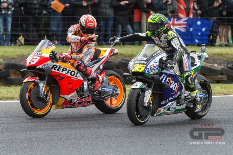 """MotoGP: Crutchlow: """"If you try to imitate Marquez's style, it won't end well."""""""