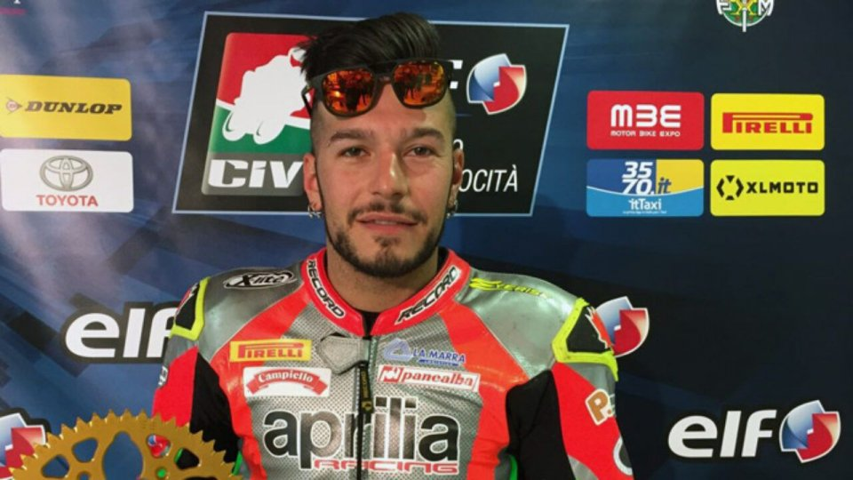 """SBK: CIV - La Marra: """"I know that if I fall badly I could die, but I love to ride"""""""