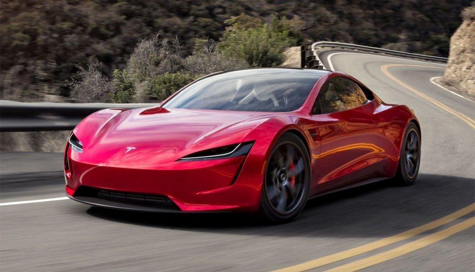 Auto - News: Tesla metti i razzi alla Roadster: 0 -100 km/h in un secondo!