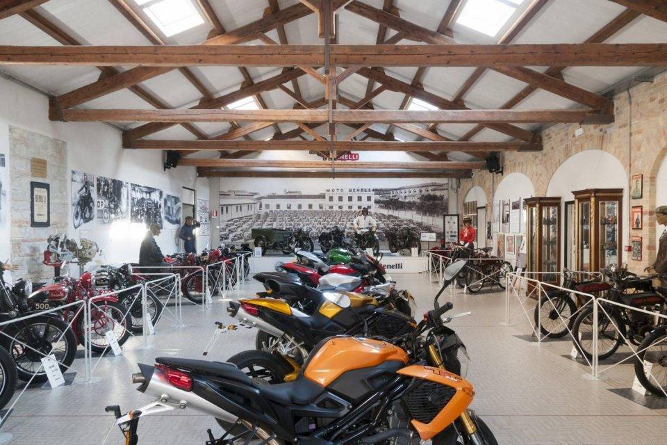 Moto - News: Il Museo Benelli riapre (gratuitamente) al pubblico