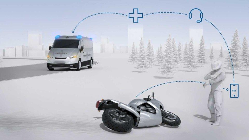 Moto - News: Bosch Help Connect, il servizio di emergenza per motociclisti