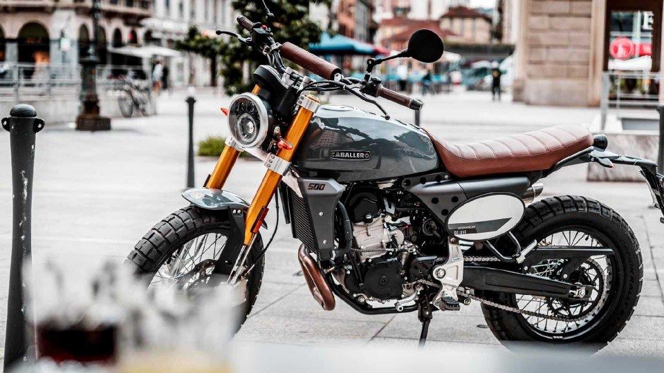 Moto - News: Fantic Caballero 500 Deluxe, l'eleganza fatta scrambler