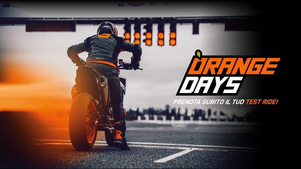 Moto - News: KTM Orange Days: le novità 2020 in prova dai concessionari