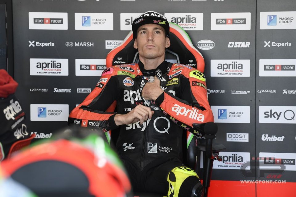 MotoGP: OFFICIAL - Aleix Espargaró and Aprilia together through 2022
