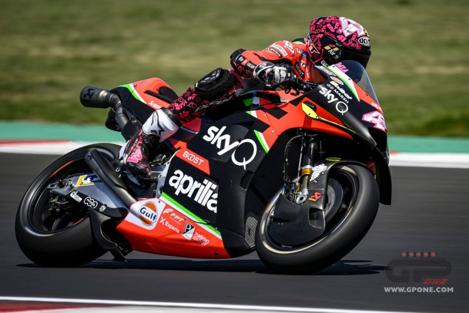 MotoGP: TEST MISANO - Aprilia: 3 giorni per scegliere il nuovo motore