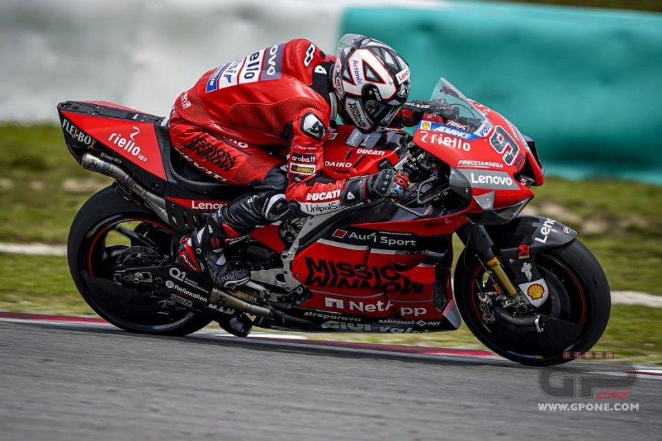 """MotoGP: Petrucci: """"Le nuove Michelin esaltano il punto debole di Ducati"""""""