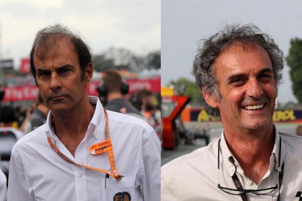 MotoGP: Emanuele Pirro e Franco Uncini: incontro al vertice a Misano
