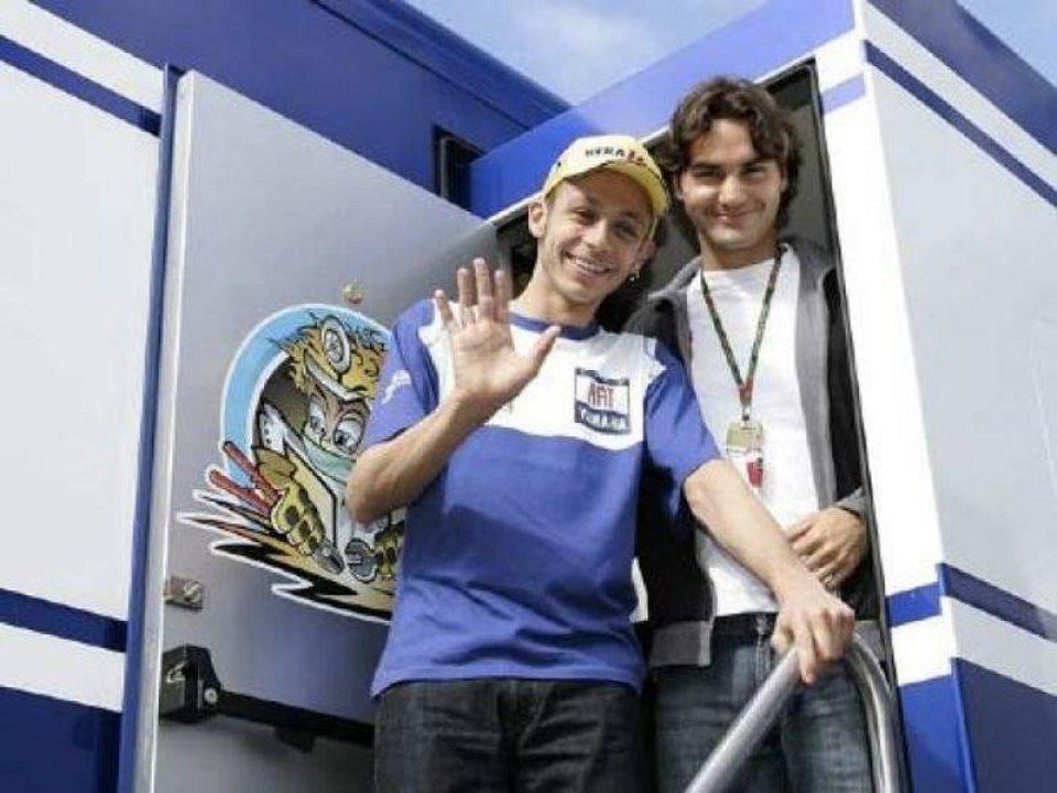 MotoGP: Forbes: Federer il Paperone dello sport, Rossi e Marquez fuori dai 100