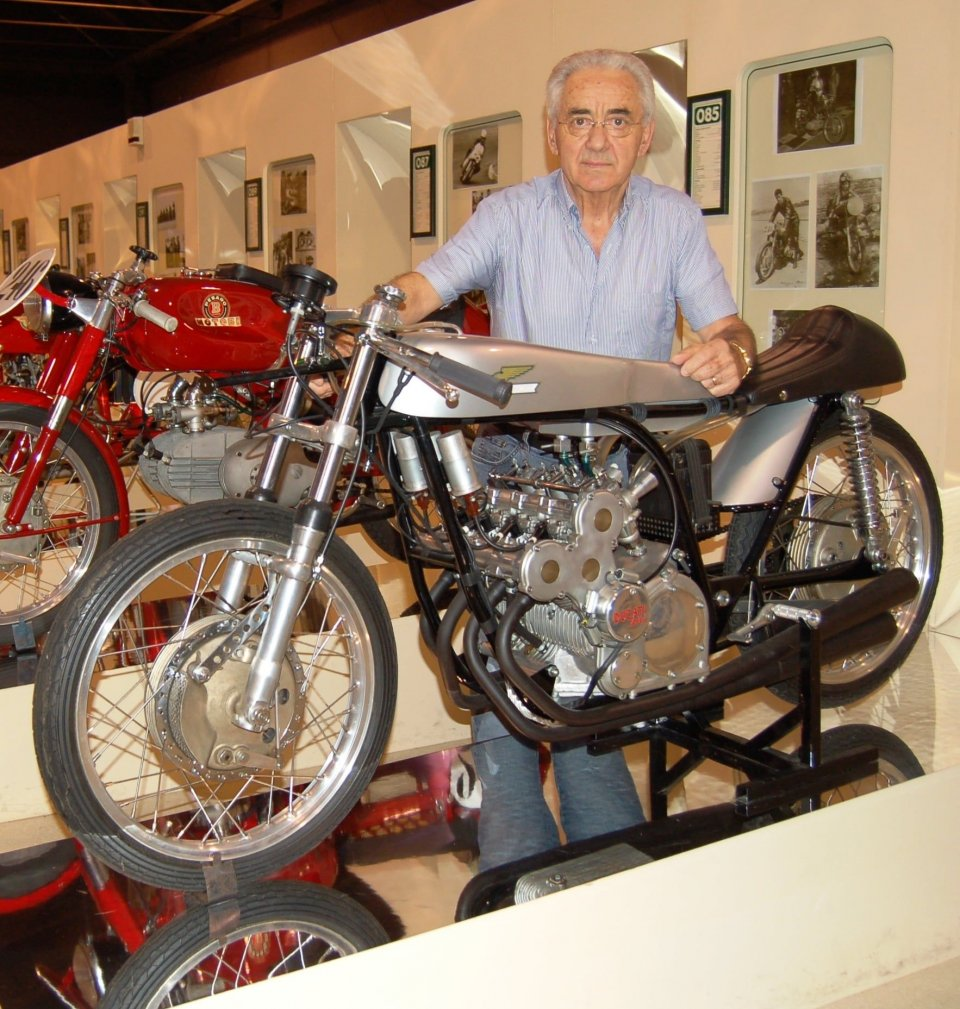 News: 4-cylinder Ducati 125 from former Morbidelli Museum up for auction at 660,000 Euros!