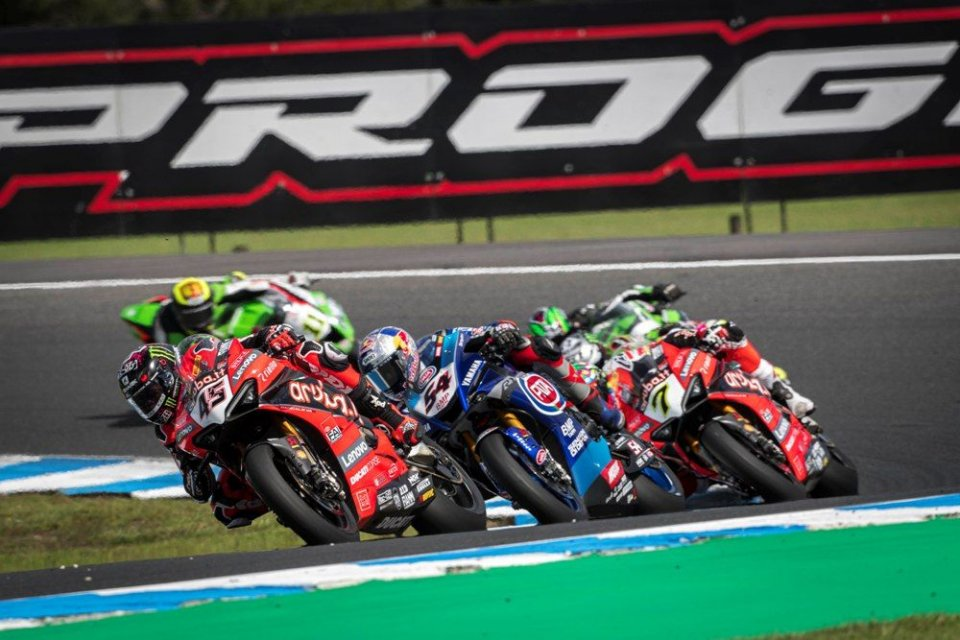 SBK: Misano-Barcellona: è già sfida Mondiale in Superbike