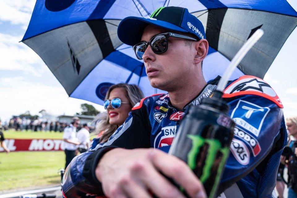 "SBK: Van der Mark: ""Yamaha mi ha già offerto il rinnovo del contratto"""