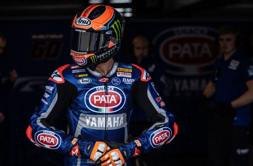 SBK: UFFICIALE - Van der Mark e Yamaha: addio a fine stagione