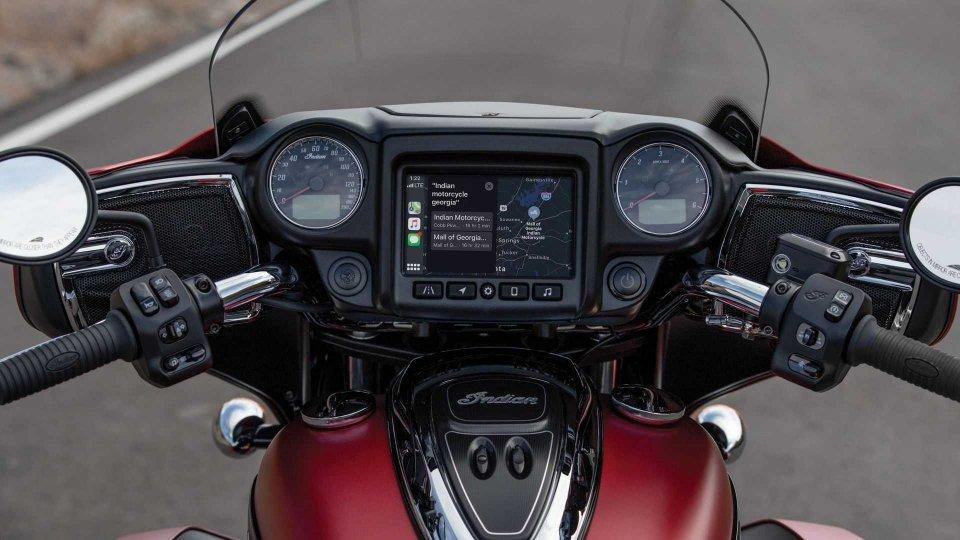 Moto - News: Indian: sulle bagger arriva Apple CarPlay
