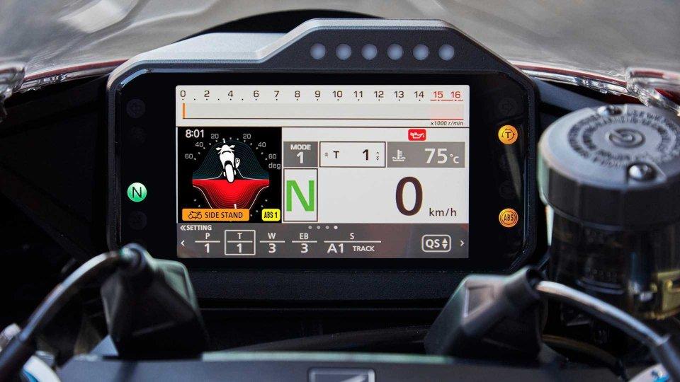 Moto - News: Honda CBR1000RR-R, online il simulatore del TFT