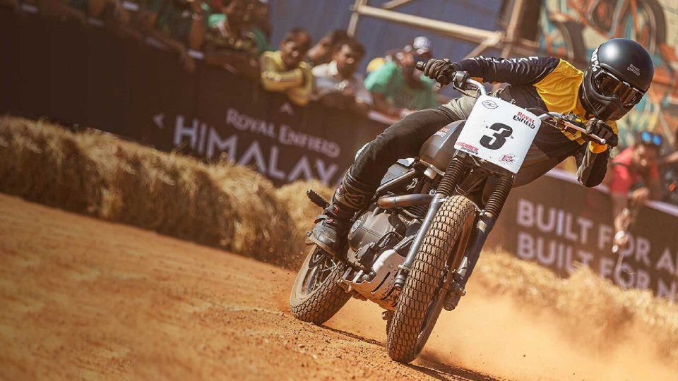 Moto - News: Royal Enfield: pronto il debutto nell'American Flat Track Series