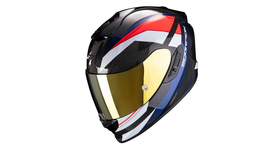 Moto - News: Scorpion Exo 1400 Carbon Air, il casco GT dall'anima racing