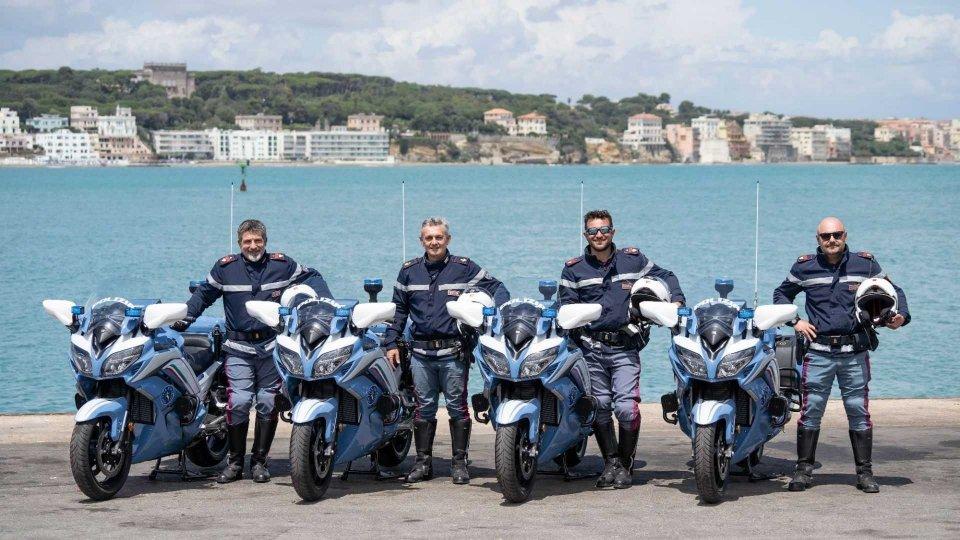 Moto - News: 90 Yamaha FJR1300AE per la Polizia di Stato