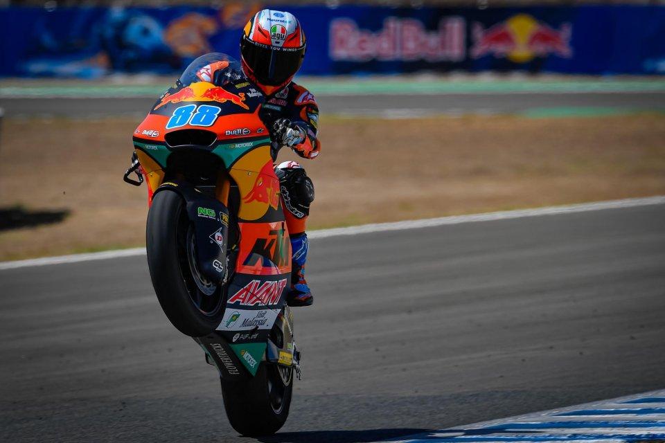 Moto2: Prima pole in categoria per Martin a Jerez, 4° Marini