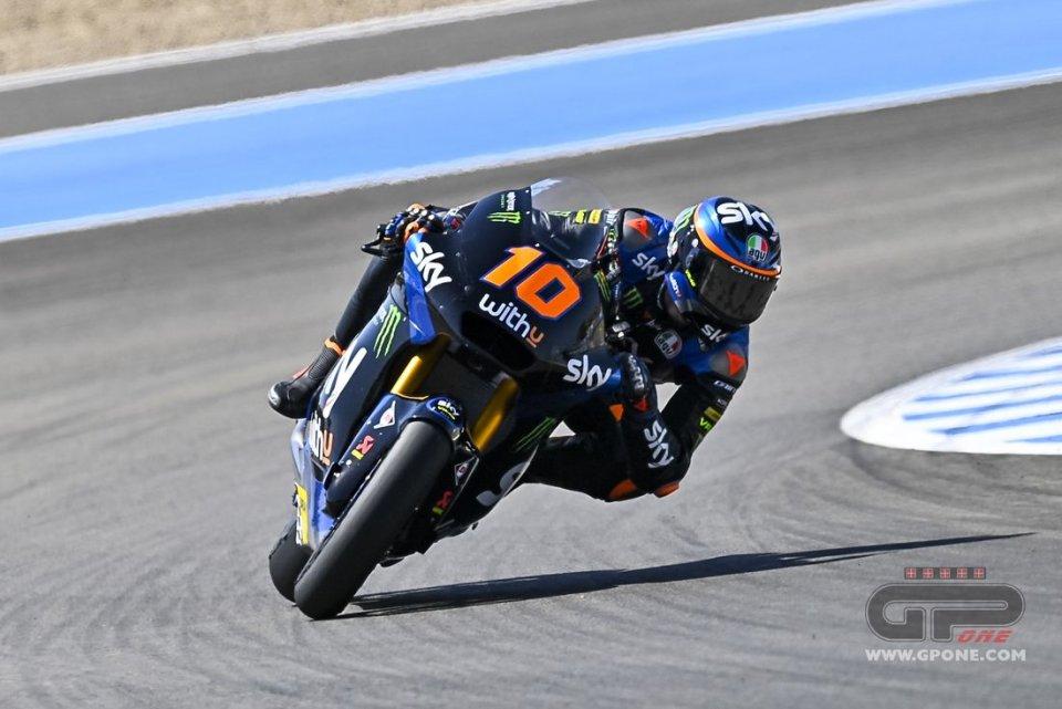 Moto2: FP1: Marini davanti a tutti a Jerez con un ritmo pazzesco, Navarro 2°
