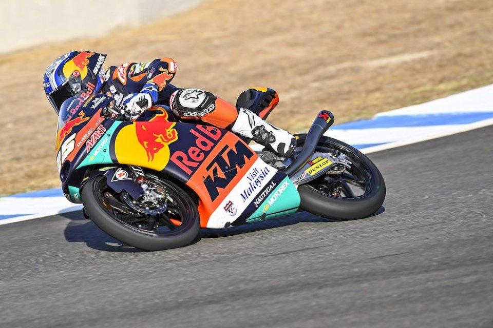 Moto3: FP1: Suzuki segue Fernandez, Migno (5°) è il migliore degli italiani