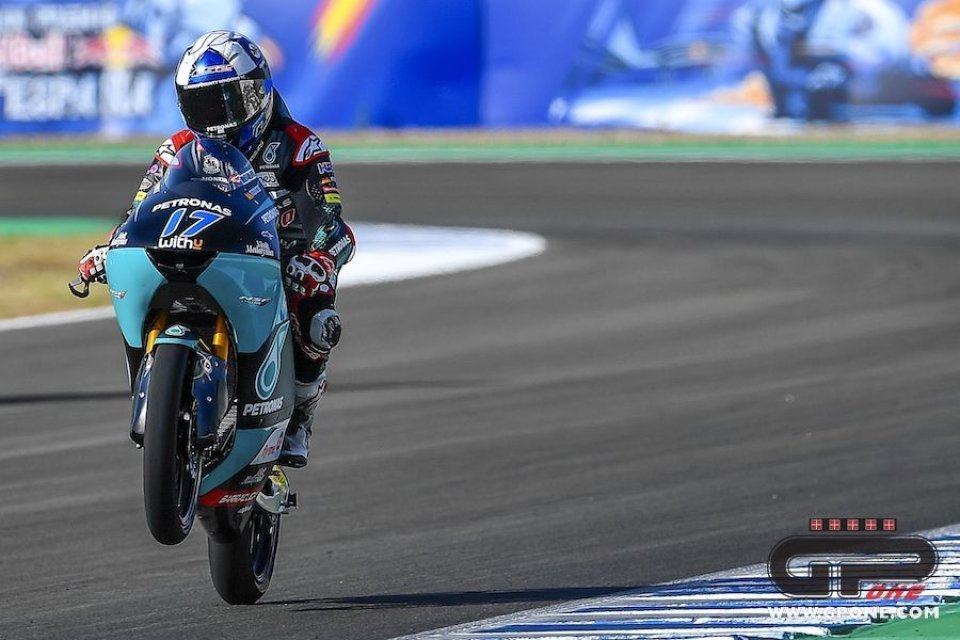 Moto3: FP2: McPhee chiude davanti a Migno, Arbolino lavora per la gara