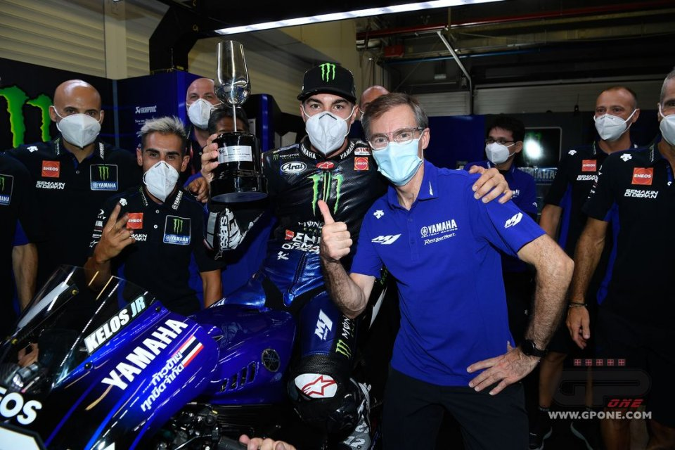 """MotoGP: Vinales: """"Thanks to Marquez, I figured out how to improve the Yamaha"""""""