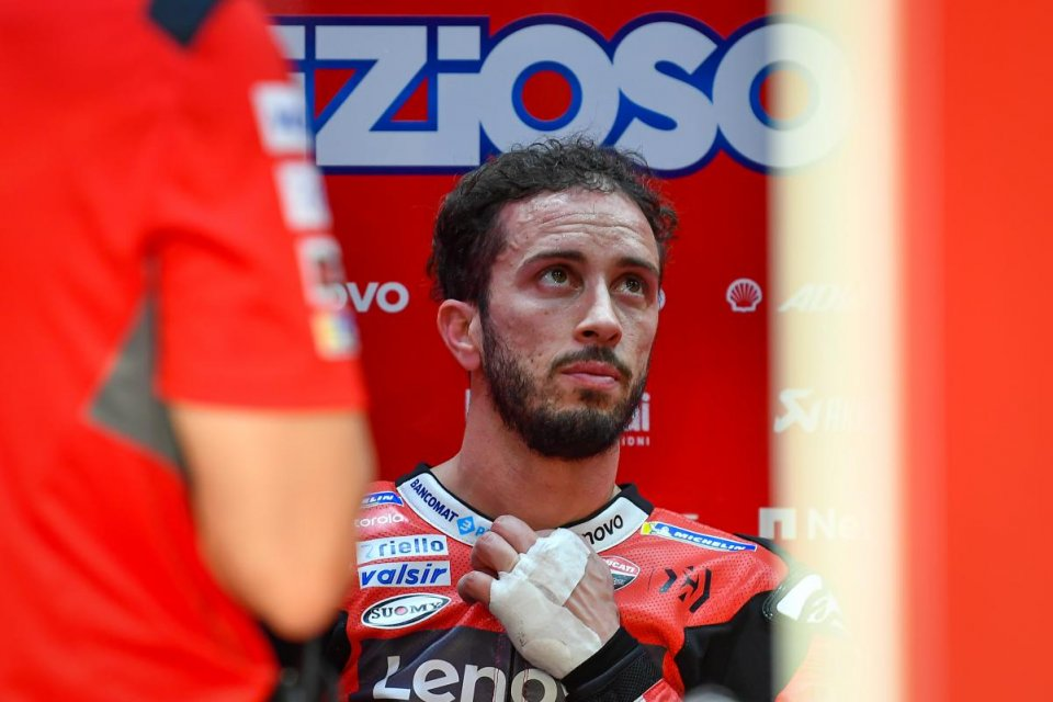 """MotoGP: Porcellini: """"I think Dovizioso will be able to race in Jerez"""""""