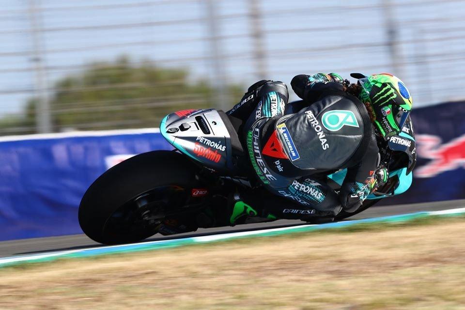 """MotoGP: Morbidelli: """"Sono caduto per mancanza di concentrazione"""""""