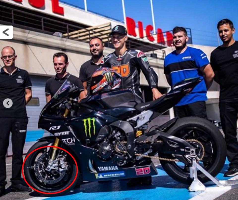 MotoGP: CASO Quartararo: la Yamaha R1 di Fabio non aveva dischi in carbonio
