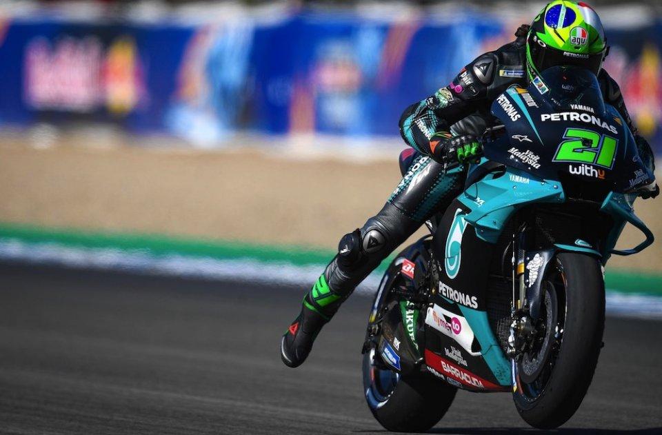 """MotoGP: Morbidelli: """"Vedere Valentino Rossi veloce non mi stupisce mai"""""""