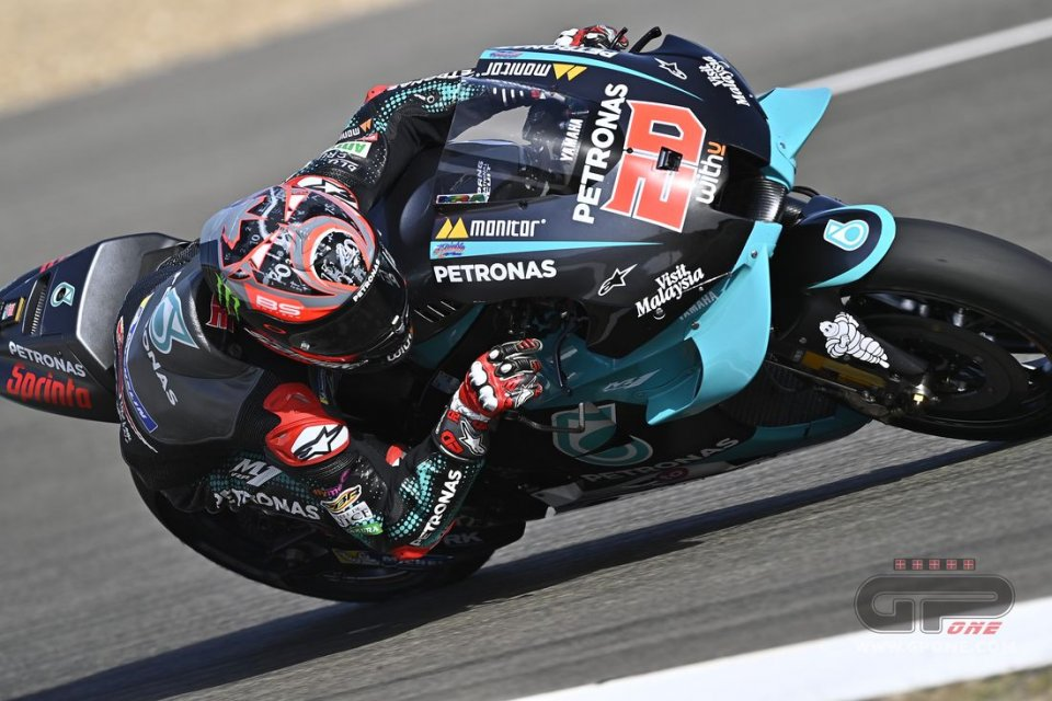 MotoGP: Jerez, Doppietta Yamaha: 1° Quartararo, 2° Vinales. Ottimo Bagnaia 4°