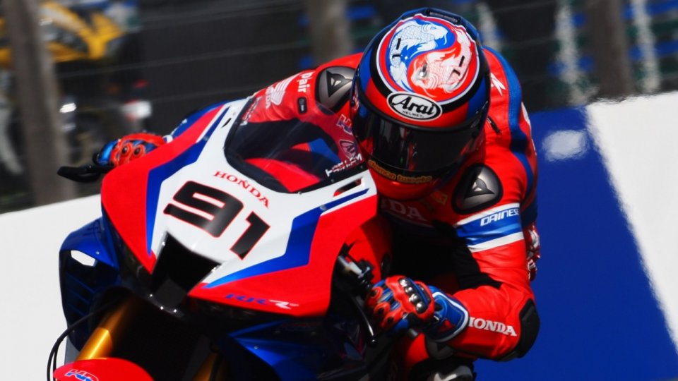 "SBK: Haslam: ""Should I stay in Honda? I'm always faster than Bautista"""